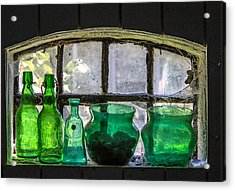 Acrylic Print featuring the photograph Seeing Green by Odd Jeppesen
