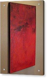 Seeing Red Acrylic Print by Tamara Bettencourt