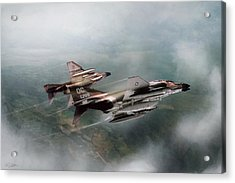 Acrylic Print featuring the digital art Seek And Attack by Peter Chilelli