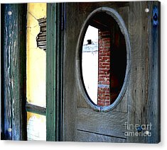 Acrylic Print featuring the photograph Seeking Perspective by Lin Haring