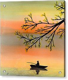 Seeking Solitude Acrylic Print