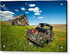 Seen Better Days Acrylic Print by Todd Klassy