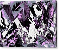 Seer Acrylic Print by Jo Baby