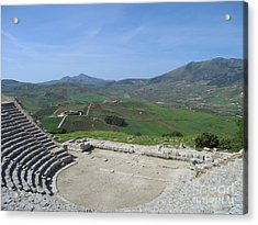 Segesta In Spring  Acrylic Print by Clay Cofer