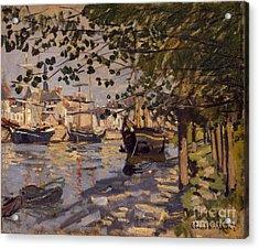 Seine At Rouen Acrylic Print