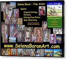 Selena Boron Photo Card 1 Acrylic Print