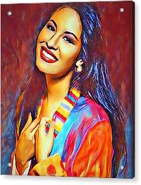 Selena Queen Of Tejano  Acrylic Print