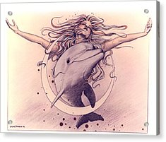 Selene Acrylic Print