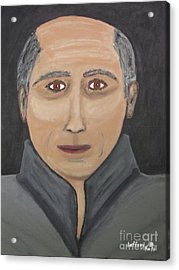 Acrylic Print featuring the painting Self by Jeffrey Koss