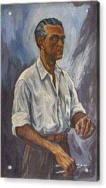 Self Portrait Acrylic Print by Arturo Garcia Bustos