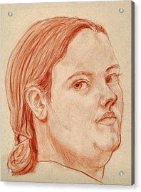 Self Portrait Acrylic Print by Jean Haynes