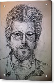 Self Portrait Acrylic Print by Jeff Levitch