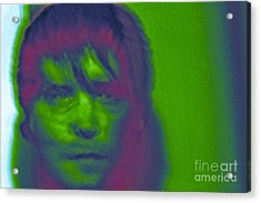 Acrylic Print featuring the photograph Self Portrait Number 1 by Xn Tyler