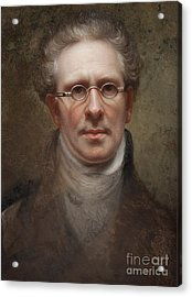 Self Portrait Acrylic Print by Rembrandt Peale