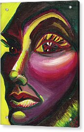 Self Portrait Acrylic Print by Suzanne  Marie Leclair
