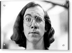 Self-portrait, With Raised Eyebrow, 1972 Acrylic Print