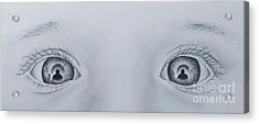 Self Portraits In A Daughters Eyes Acrylic Print