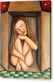 Self Storage Acrylic Print by Leah Saulnier The Painting Maniac