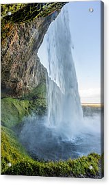 Acrylic Print featuring the photograph Seljalandsfoss by James Billings