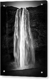 Acrylic Print featuring the photograph Seljalendsfoss by Alex Blondeau