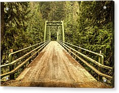 Selway River Bridge Acrylic Print