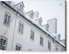 Seminary Of Quebec City In Old Town Acrylic Print