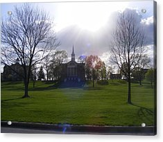 Seminary Ridge Acrylic Print by Adam Cornelison