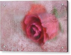 Acrylic Print featuring the photograph Send With Love 2 by Diane Alexander