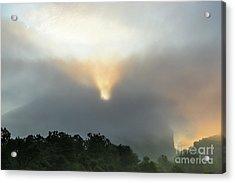 Seneca Rocks After The Storm Acrylic Print by Dr Regina E Schulte-Ladbeck