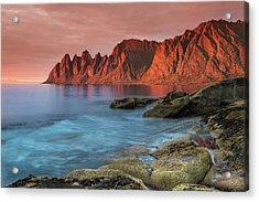 Senja Red Acrylic Print