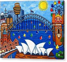 Sensational Sydney Acrylic Print