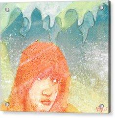 Sense Acrylic Print by Vanessa Baladad