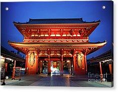 Sensoji Temple Tokyo Acrylic Print