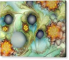 Sensorial Intervention Acrylic Print by Casey Kotas