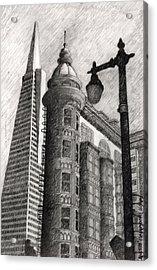 Sentinel Building Acrylic Print