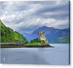Sentinel Of The Loch Acrylic Print