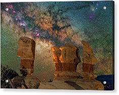 Sentinels Of The Night Acrylic Print