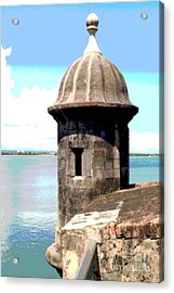 Sentry Box In El Morro Acrylic Print