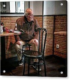 Señor #bar #portrait Acrylic Print