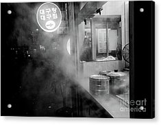 Acrylic Print featuring the photograph Seoul Steam by Dean Harte
