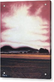 Sepia Morning Acrylic Print by Harvey Rogosin