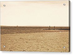 Sepia Sands Acrylic Print by JAMART Photography