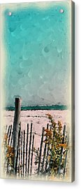 September Beach Acrylic Print