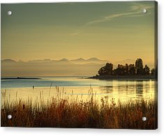 September Morn Acrylic Print by Randy Hall