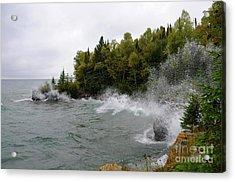 September Splash Acrylic Print