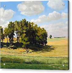 September Summer Acrylic Print by Bruce Morrison