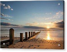 September Sunrise At Aberdeen Beach Acrylic Print