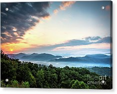 Acrylic Print featuring the photograph September Sunrise by Douglas Stucky