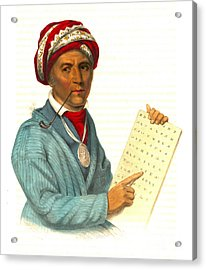 Acrylic Print featuring the photograph Sequoyah 1838 by Padre Art