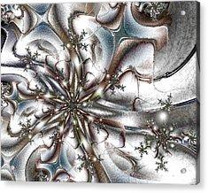 Seraphim Acrylic Print by Kimberly Hansen